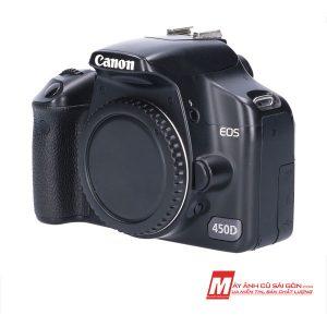 Máy ảnh Canon 450D cũ xách tay Nhật giá rẻ ngoại hình đẹp