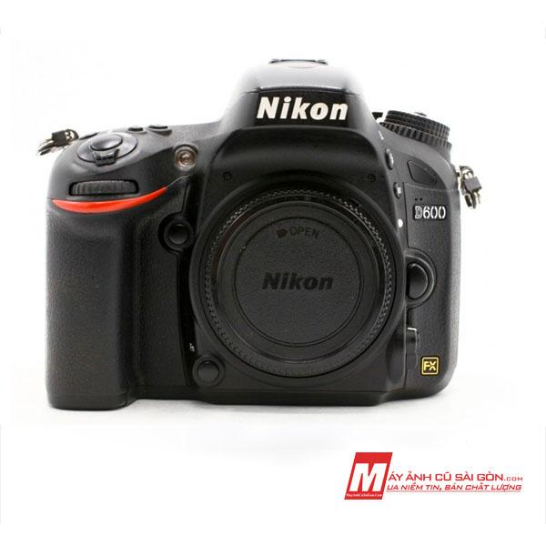 Máy ảnh Fullframe Nikon D600 cũ ngoại hình đẹp giá rẻ