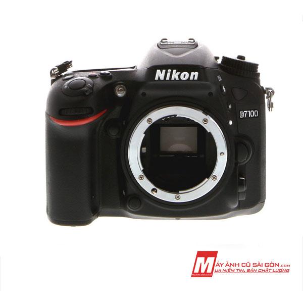 Máy ảnh Nikon D7100 cũ giá rẻ ngoại hình đẹp xách tay Nhật