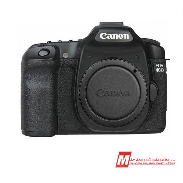 Máy ảnh Canon 40D cũ giá rẻ ngoại hình đẹp cho người tập chụp