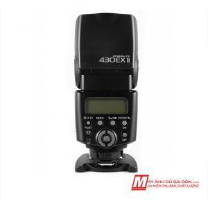 Đèn Flash Canon 430Ex II cũ ngoại hình đẹp có hỗ trợ TTL