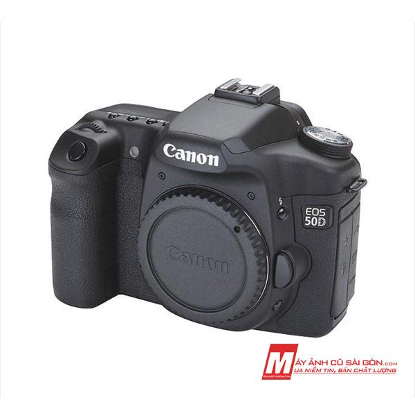 Máy ảnh Canon 50D cũ giá rẻ ngoại hình đẹp cho người tập chụp