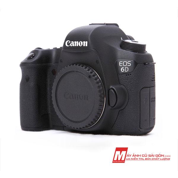 Máy ảnh Fullframe Canon 6D cũ ngoại hình đẹp giá rẻ