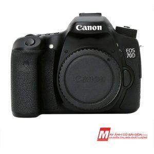 Máy ảnh Canon 70D cũ ngoại hình đẹp giá rẻ tại Sài Gòn