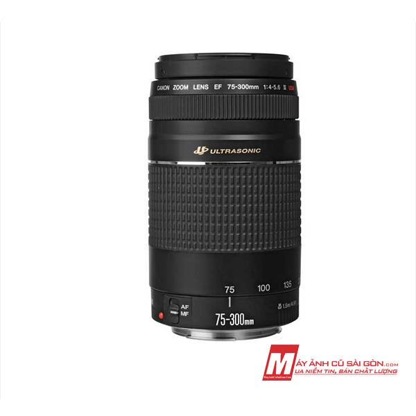 Lens canon 75-300 USM III cũ xách tay nhật