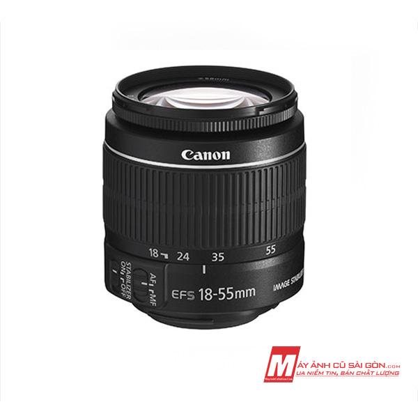 Lens KIT Canon 18-55 IS II chữa cháy chụp ảnh đa dụng góc rộng cho máy ảnh Crop