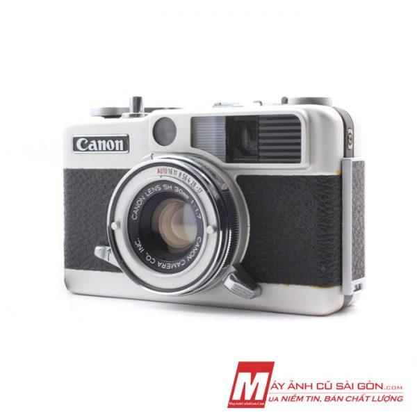 Máy ảnh Film Half Frame Full cơ Canon Demi EE17 ngoại hình đẹp giá rẻ