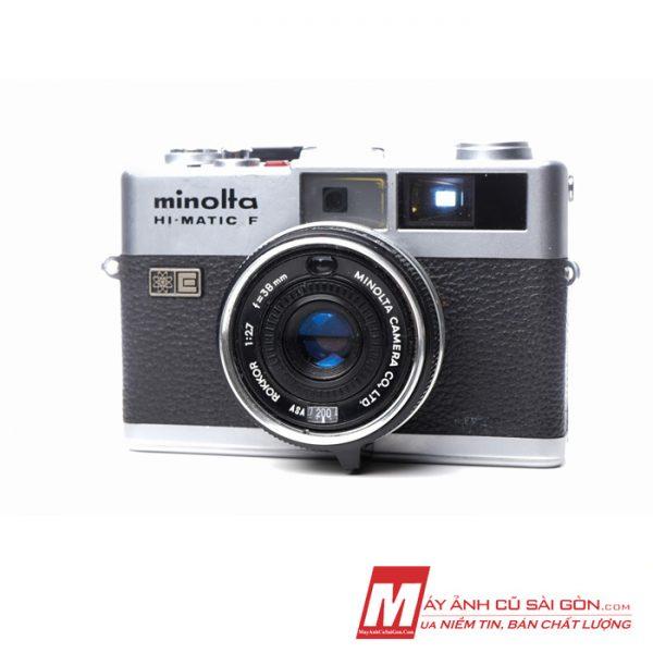 Máy ảnh Film Half Frame Full cơ Minolta Hi Matic F ngoại hình đẹp giá rẻ