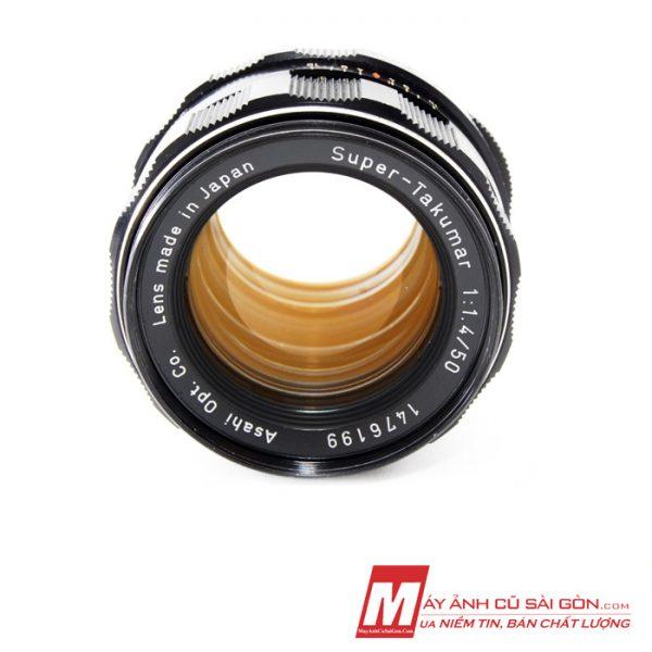 Lens chân dung MF Pentax Super Takumar 50F1.4 xóa phông ngàm M42