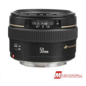 Lens chân dung Canon 50F1.4 USM