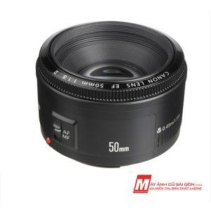 Lens chụp ảnh chân dung xóa phông Canon 50F1.8 II giá rẻ