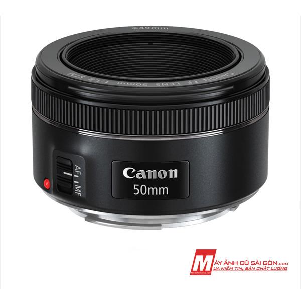 Lens chân dung Canon 50STM