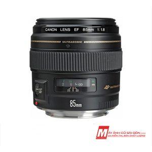 Lens chân dung xóa phông Canon 85F1.8 USM giá rẻ