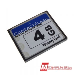 Thẻ nhớ CF 4GB cho máy ảnh
