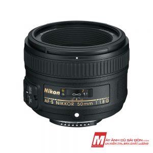 Lens Nikon 50F1.8G