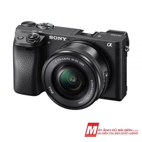 Máy ảnh Sony A6300 màu đen đẹp