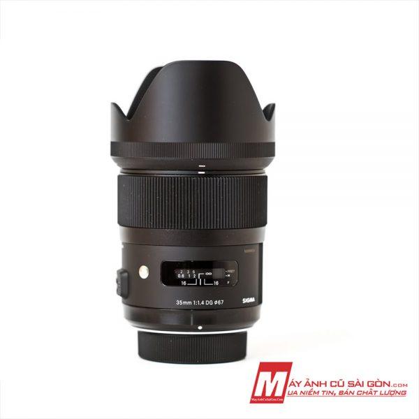 Lens Sigma 35F1.4 Art For Canon, Nikon, Sony