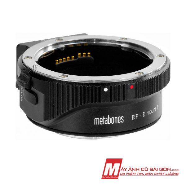 Ngàm Metabones cũ sử dụng lens Canon EF cho máy ảnh Sony ngàm E